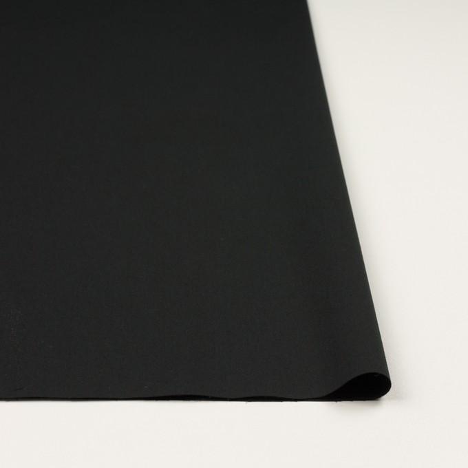 コットン&ポリウレタン×無地(ブラック)×サージストレッチ_全3色_イタリア製 イメージ3