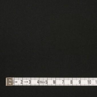 コットン&ポリウレタン×無地(ブラック)×サージストレッチ_全3色_イタリア製 サムネイル4