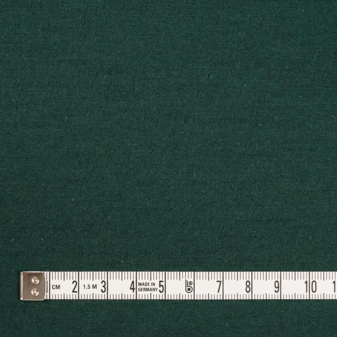 ウール×無地(モスグリーン)×圧縮天竺ニット イメージ4