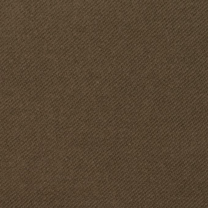コットン&ポリウレタン×無地(カーキブラウン)×モールスキン・ストレッチ_全3色 イメージ1