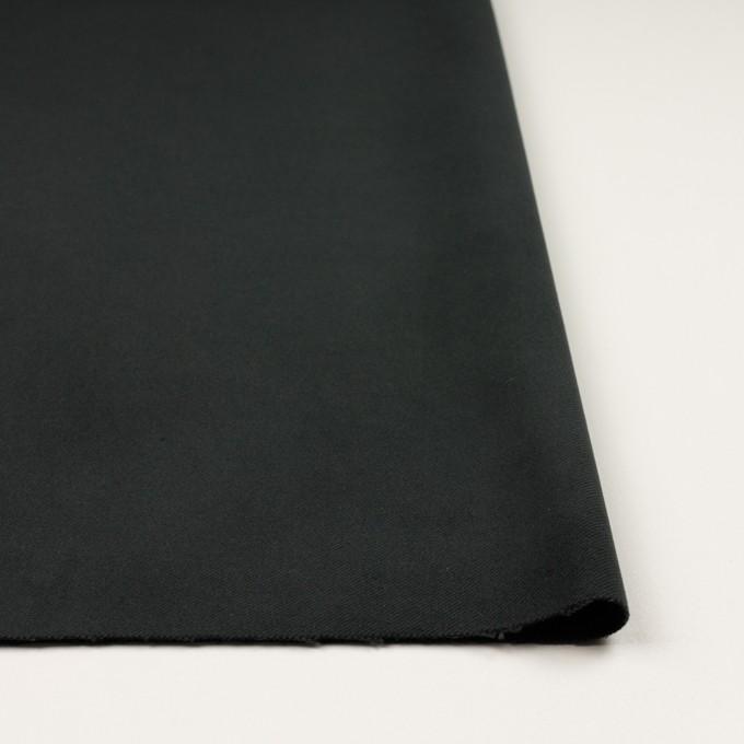 コットン&ポリウレタン×無地(チャコールブラック)×モールスキン・ストレッチ_全3色 イメージ3