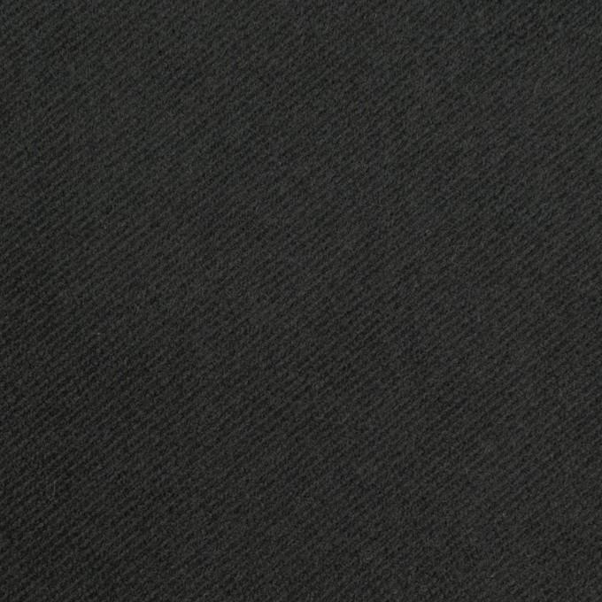 コットン&ポリウレタン×無地(チャコールブラック)×モールスキン・ストレッチ_全3色 イメージ1