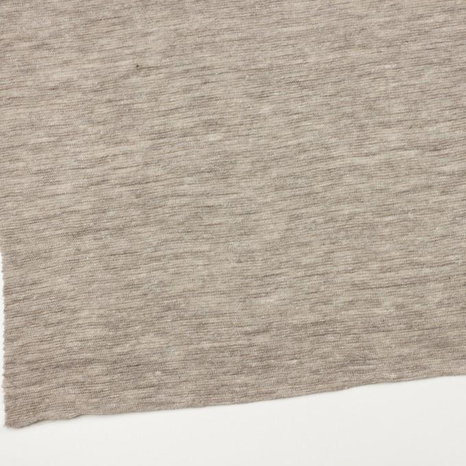 リネン&ウール×ミックス(ベージュグレー)×メッシュニット イメージ2