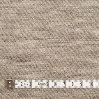 リネン&ウール×ミックス(ベージュグレー)×メッシュニット サムネイル4