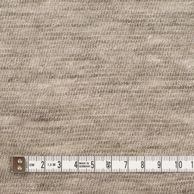 リネン&ウール×ミックス(ベージュグレー)×メッシュニット イメージ4