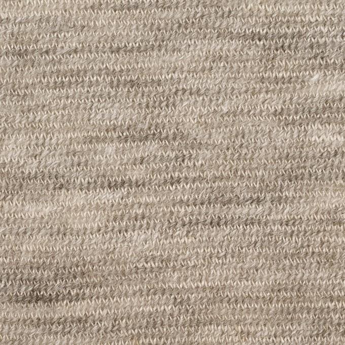 リネン&ウール×ミックス(ベージュグレー)×メッシュニット イメージ1