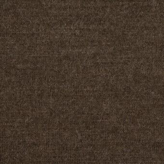 ウール&ナイロン×無地(アッシュブラウン)×天竺ニット サムネイル1