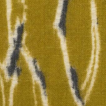 ウール×幾何学模様(アンティークゴールド)×薄サージ_全2色