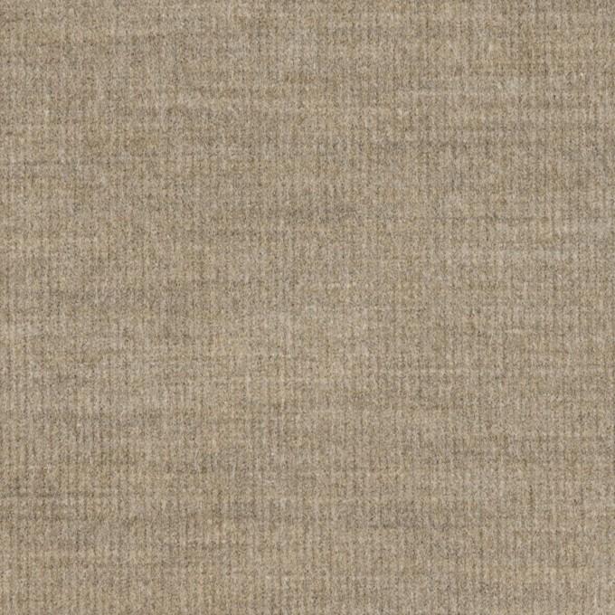 コットン&ポリウレタン×無地(ベージュグレー)×細コーデュロイ・ストレッチ イメージ1