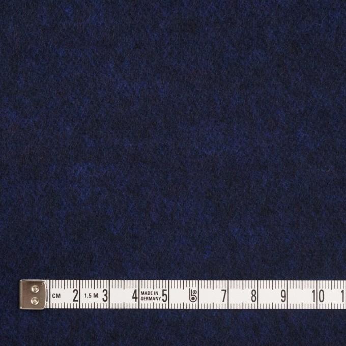 ウール&ポリエステル×無地(マリンブルー)×サージ イメージ4