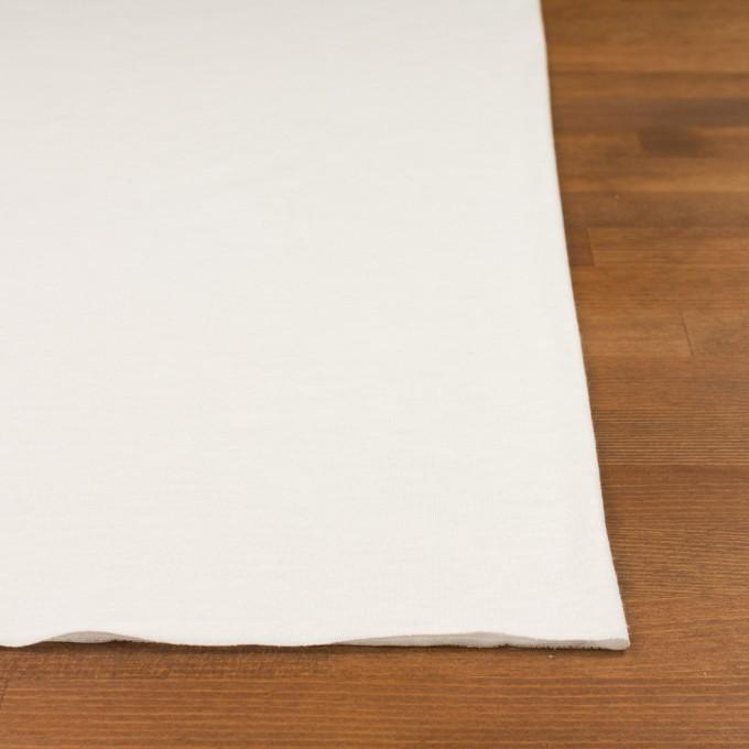 モダール&アンゴラ×無地(オフホワイト)×天竺ニット_全5色 イメージ3