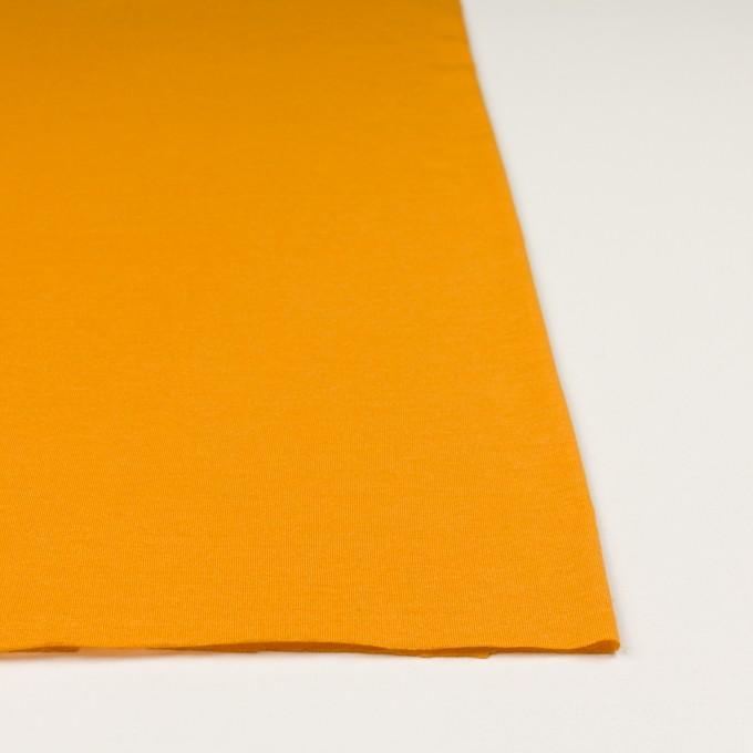 モダール&アンゴラ×無地(マンダリンオレンジ)×天竺ニット_全5色 イメージ3