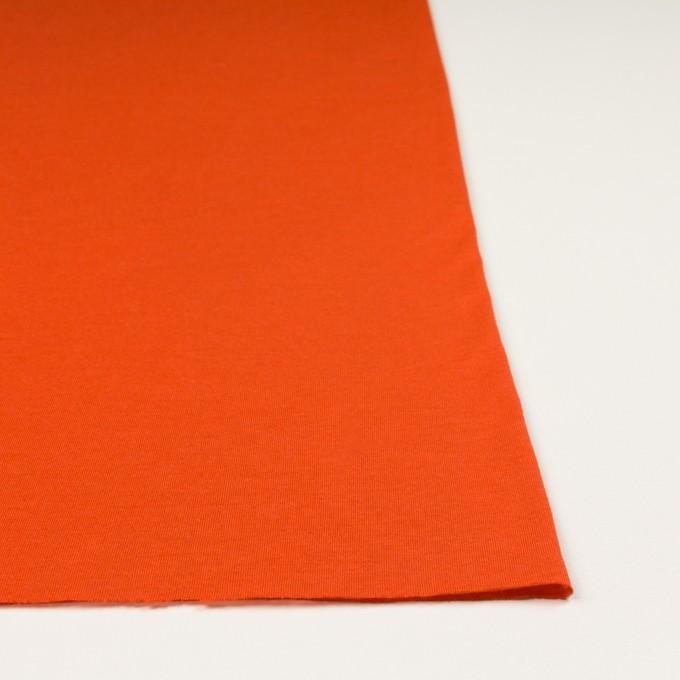 モダール&アンゴラ×無地(バレンシアオレンジ)×天竺ニット_全5色 イメージ3