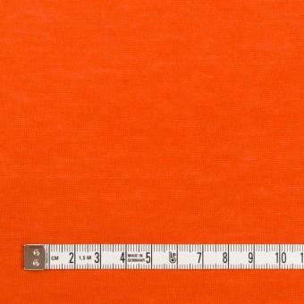 モダール&アンゴラ×無地(バレンシアオレンジ)×天竺ニット_全5色 サムネイル4