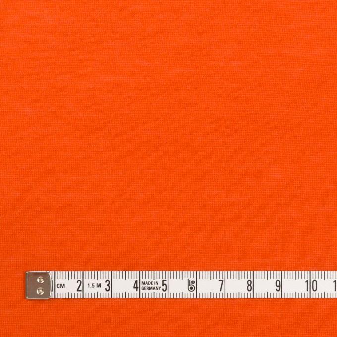 モダール&アンゴラ×無地(バレンシアオレンジ)×天竺ニット_全5色 イメージ4