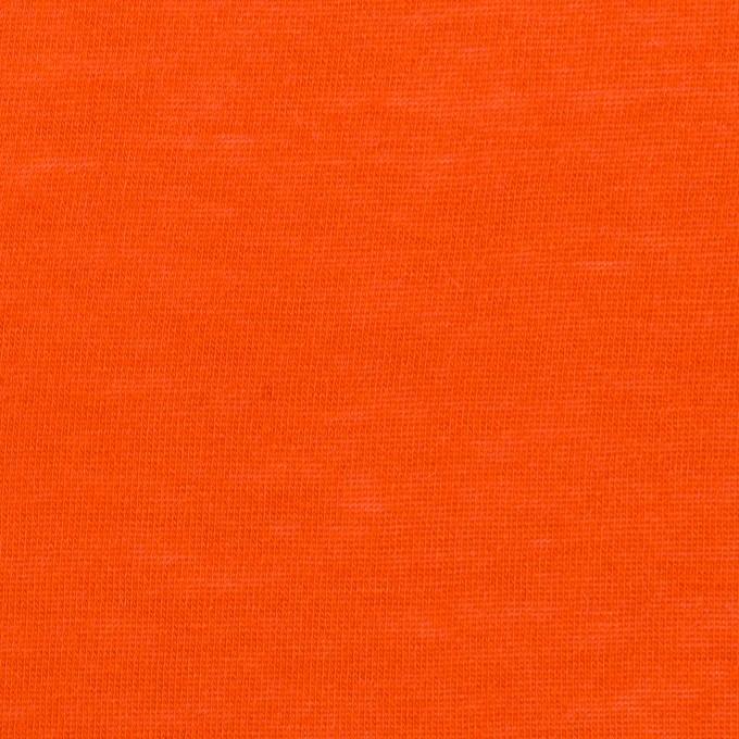 モダール&アンゴラ×無地(バレンシアオレンジ)×天竺ニット_全5色 イメージ1