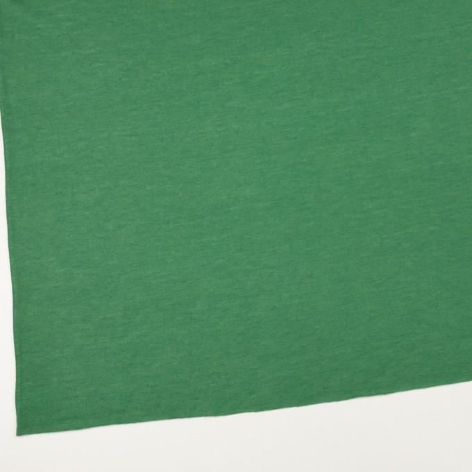 モダール&アンゴラ×無地(フォレストグリーン)×天竺ニット_全5色 イメージ2
