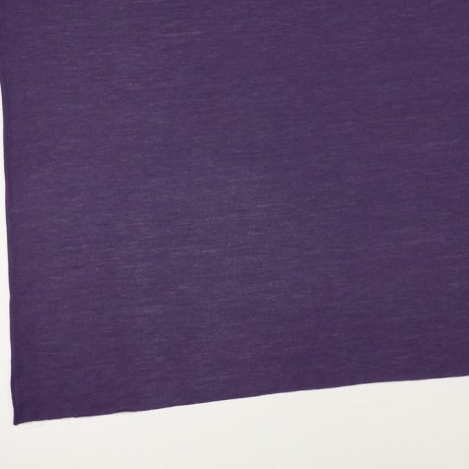 モダール&アンゴラ×無地(パープル)×天竺ニット_全5色 イメージ2