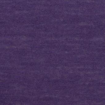 モダール&アンゴラ×無地(パープル)×天竺ニット_全5色