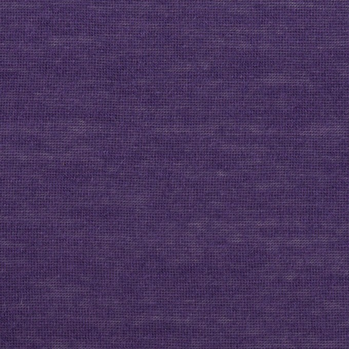 モダール&アンゴラ×無地(パープル)×天竺ニット_全5色 イメージ1