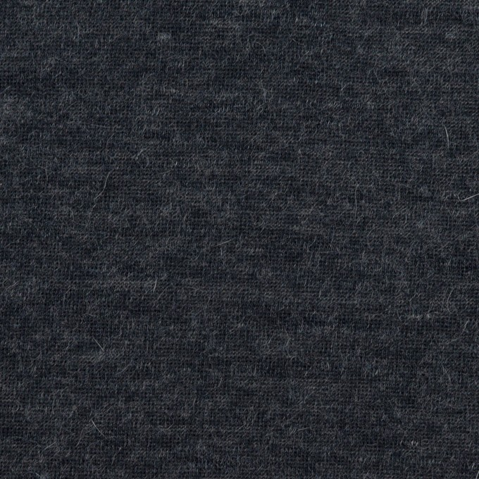 モダール&アンゴラ×無地(チャコール)×天竺ニット イメージ1
