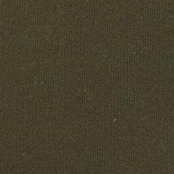 コットン×無地(アッシュカーキグリーン)×グログラン