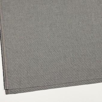 コットン&ポリウレタン×ミックス(チャコールブラック)×かわり織ストレッチ サムネイル2