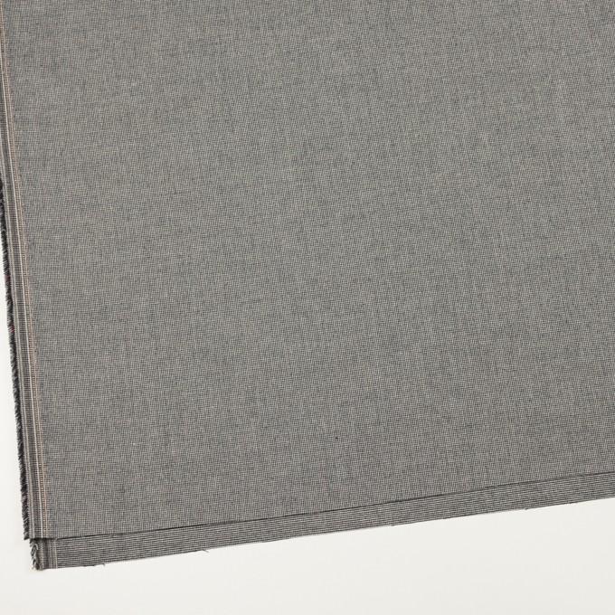 コットン&ポリウレタン×ミックス(チャコールブラック)×かわり織ストレッチ イメージ2