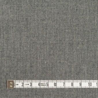 コットン&ポリウレタン×ミックス(チャコールブラック)×かわり織ストレッチ サムネイル4