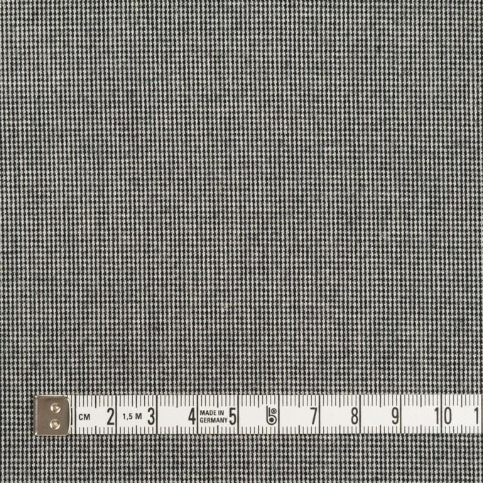 コットン&ポリウレタン×ミックス(チャコールブラック)×かわり織ストレッチ イメージ4
