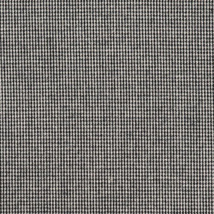 コットン&ポリウレタン×ミックス(チャコールブラック)×かわり織ストレッチ イメージ1