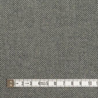 コットン&ポリウレタン×無地(グレー)×バーズアイ・ストレッチ_全2色 サムネイル4