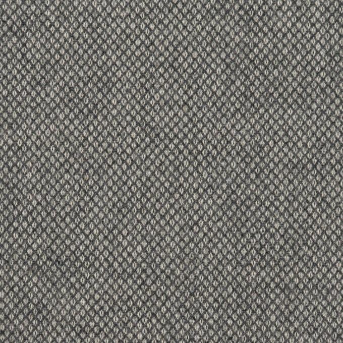 コットン&ポリウレタン×無地(グレー)×バーズアイ・ストレッチ_全2色 イメージ1