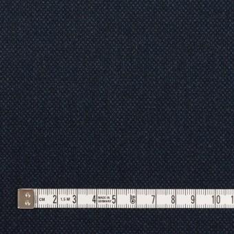 コットン&ポリウレタン×無地(ネイビー)×バーズアイ・ストレッチ_全2色 サムネイル4