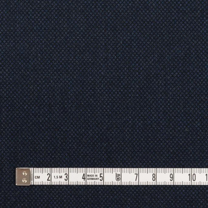 コットン&ポリウレタン×無地(ネイビー)×バーズアイ・ストレッチ_全2色 イメージ4