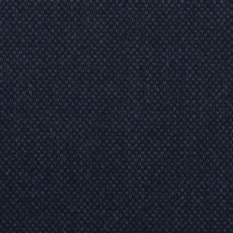 コットン&ポリウレタン×無地(ネイビー)×バーズアイ・ストレッチ_全2色 サムネイル1