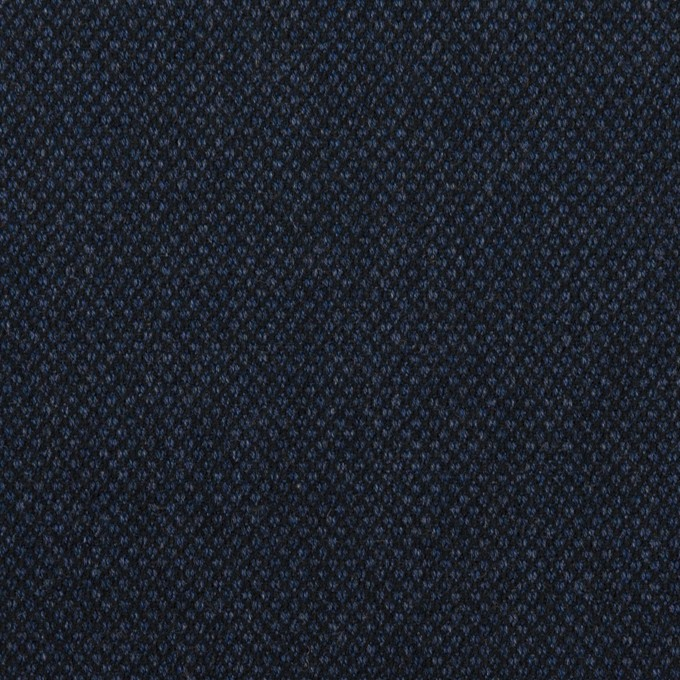 コットン&ポリウレタン×無地(ネイビー)×バーズアイ・ストレッチ_全2色 イメージ1