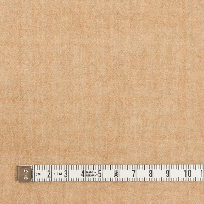 ウール×無地(ベージュ)×ガーゼ_全2色 イメージ4