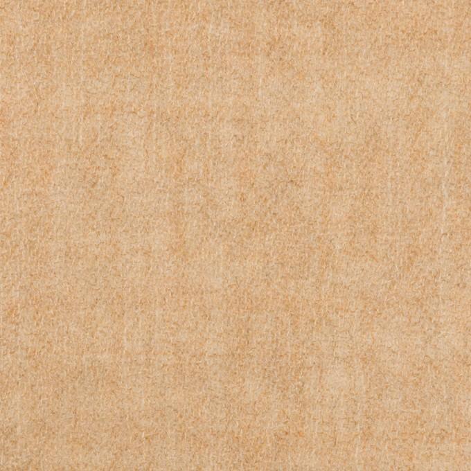 ウール×無地(ベージュ)×ガーゼ_全2色 イメージ1