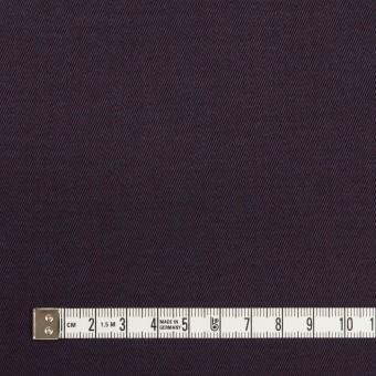 コットン×無地(パープル)×チノクロス_全2色_イタリア製 サムネイル4