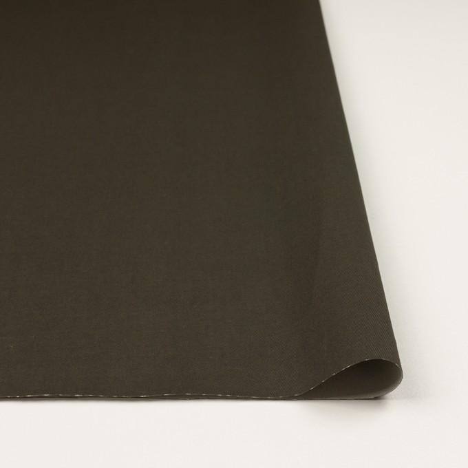 コットン×無地(カーキグリーン)×チノクロス_全2色_イタリア製 イメージ3