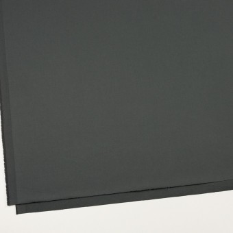 コットン&ポリウレタン×無地(スレートグレー)×サテンストレッチ_全2色_イタリア製 サムネイル2