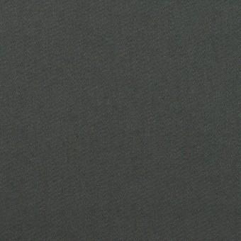 コットン&ポリウレタン×無地(スレートグレー)×サテンストレッチ_全2色_イタリア製
