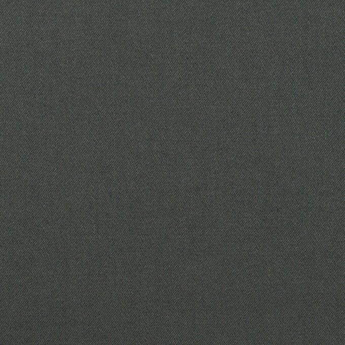 コットン&ポリウレタン×無地(スレートグレー)×サテンストレッチ_全2色_イタリア製 イメージ1