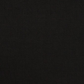 コットン&ポリウレタン×無地(ブラック)×サテンストレッチ_全2色_イタリア製