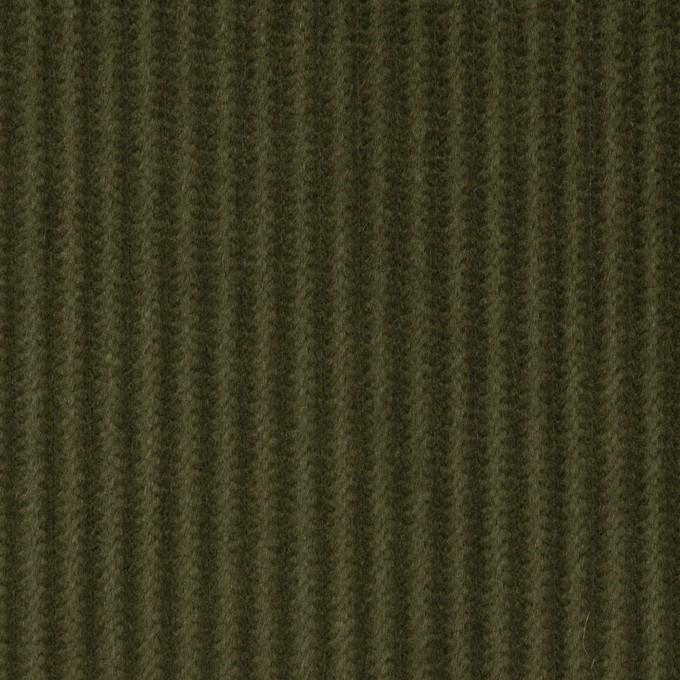 コットン×無地(カーキグリーン)×中太コーデュロイ_全5色 イメージ1