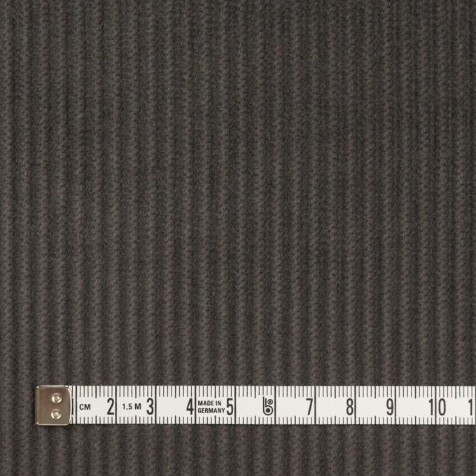 コットン×無地(チャコールグレー)×中太コーデュロイ_全5色 イメージ4