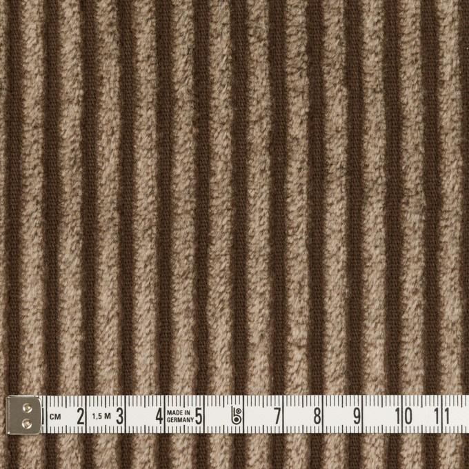 コットン×無地(ブラウン)×極太コーデュロイ_全3色_イタリア製 イメージ4