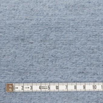 モヘア&ウール混×無地(ブルーグレー)×ループニット_イタリア製 サムネイル4