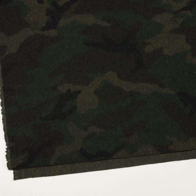 ウール×迷彩(モスグリーン)×ツイード_全2色 イメージ2